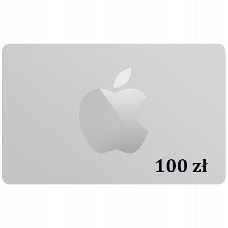Karta Upominkowa Apple Store 100 Zl 7677227009 Oficjalne