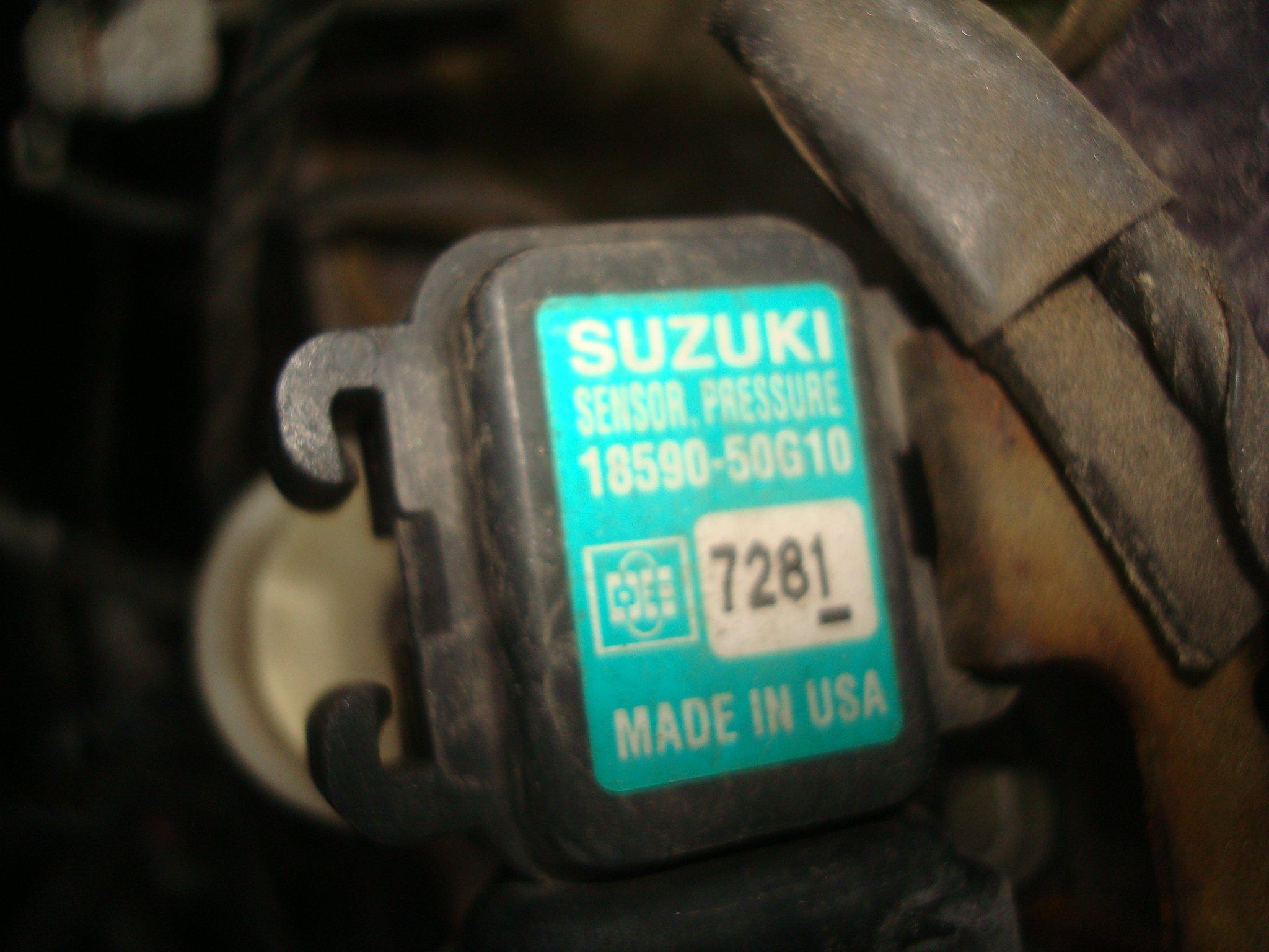 SUZUKI SWIFT II 96-04, 1 3 MAP SENSOR - 7179904214