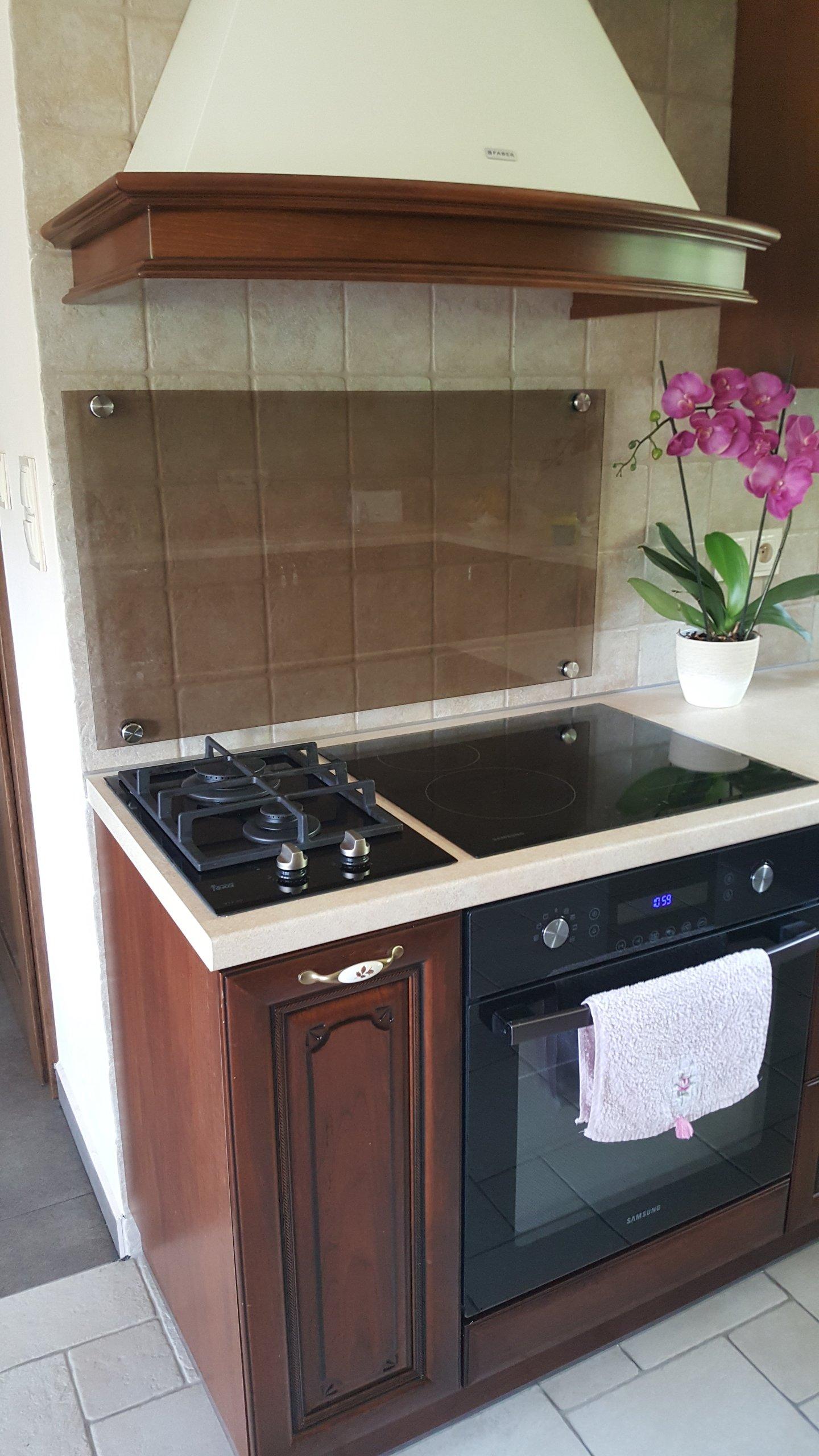 Szkło Hartowane Osłona Do Kuchni Na ścianę 60x50