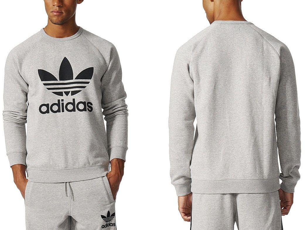 huge discount 147d6 8c59a Adidas Bluza TREFOIL FLEECE CREW (XL) Męska