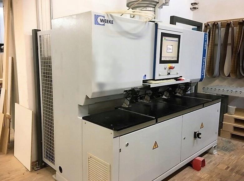 CNC WEEKE Optimat ABD 100 Wiertarka Kolczarka