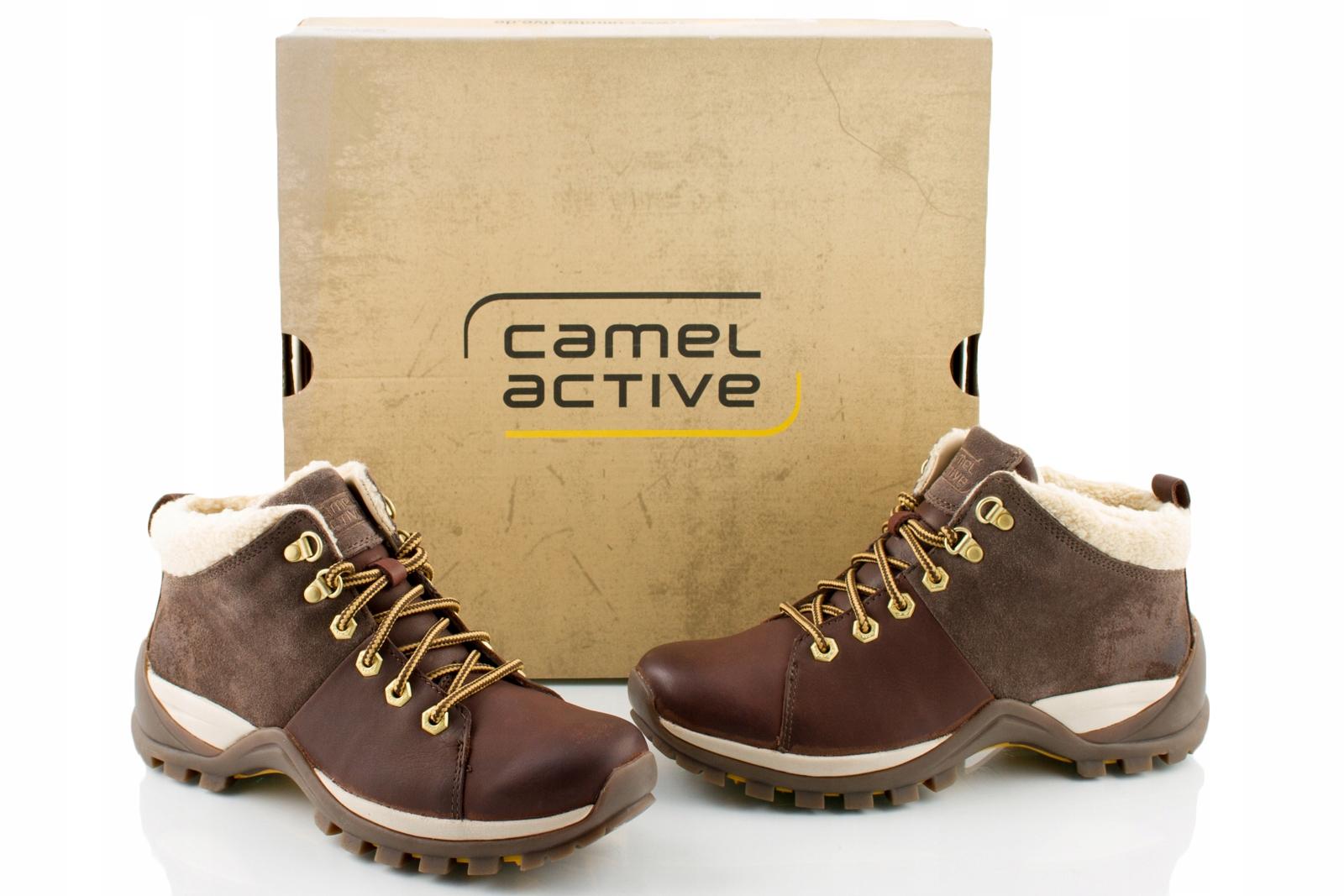 cc568c566a472 CAMEL ACTIVE buty damskie SKÓRZANE ocieplane r 38 - 7048996836 ...