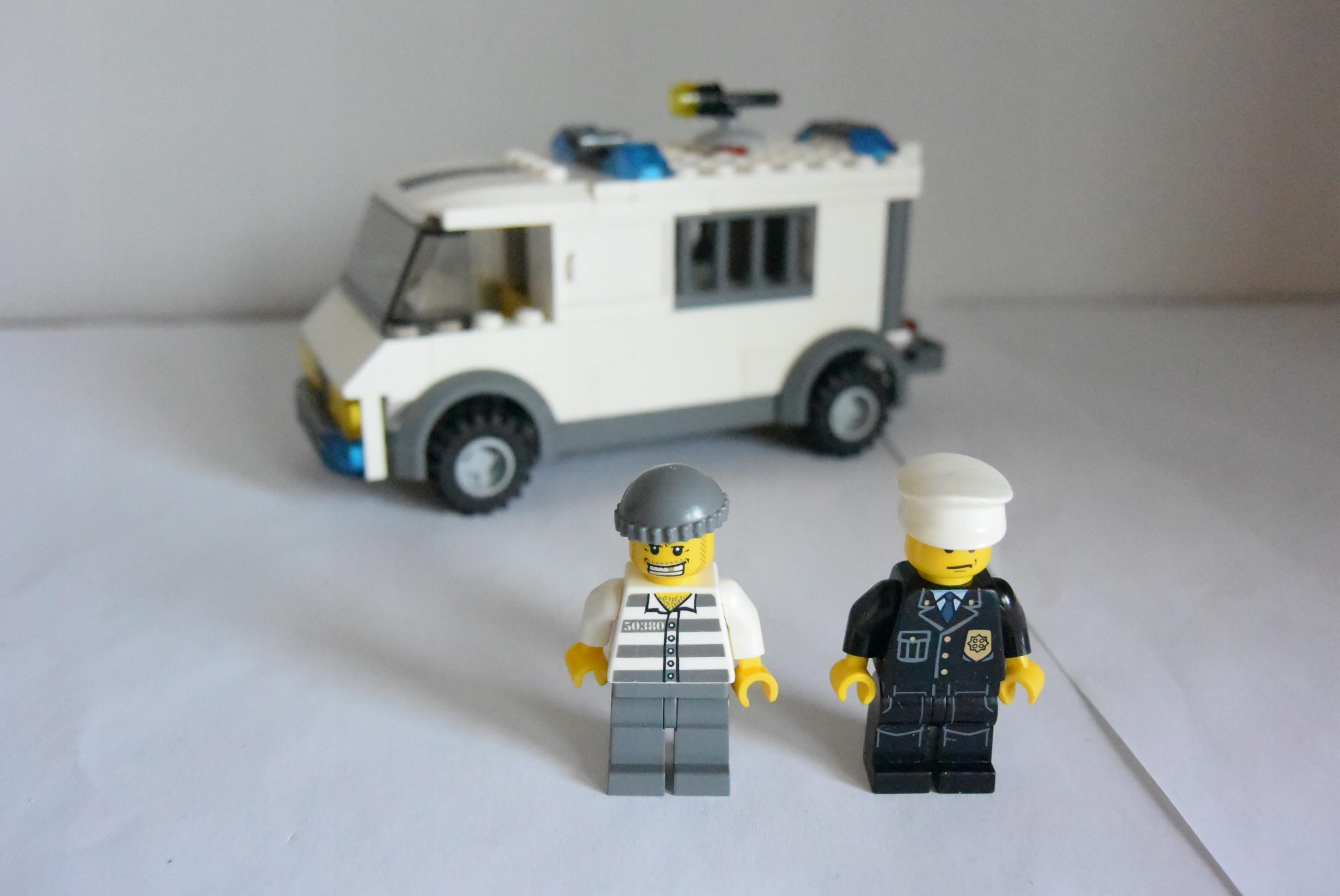 Klocki Lego City 7245 Konwój Policja 1 7469335837 Oficjalne