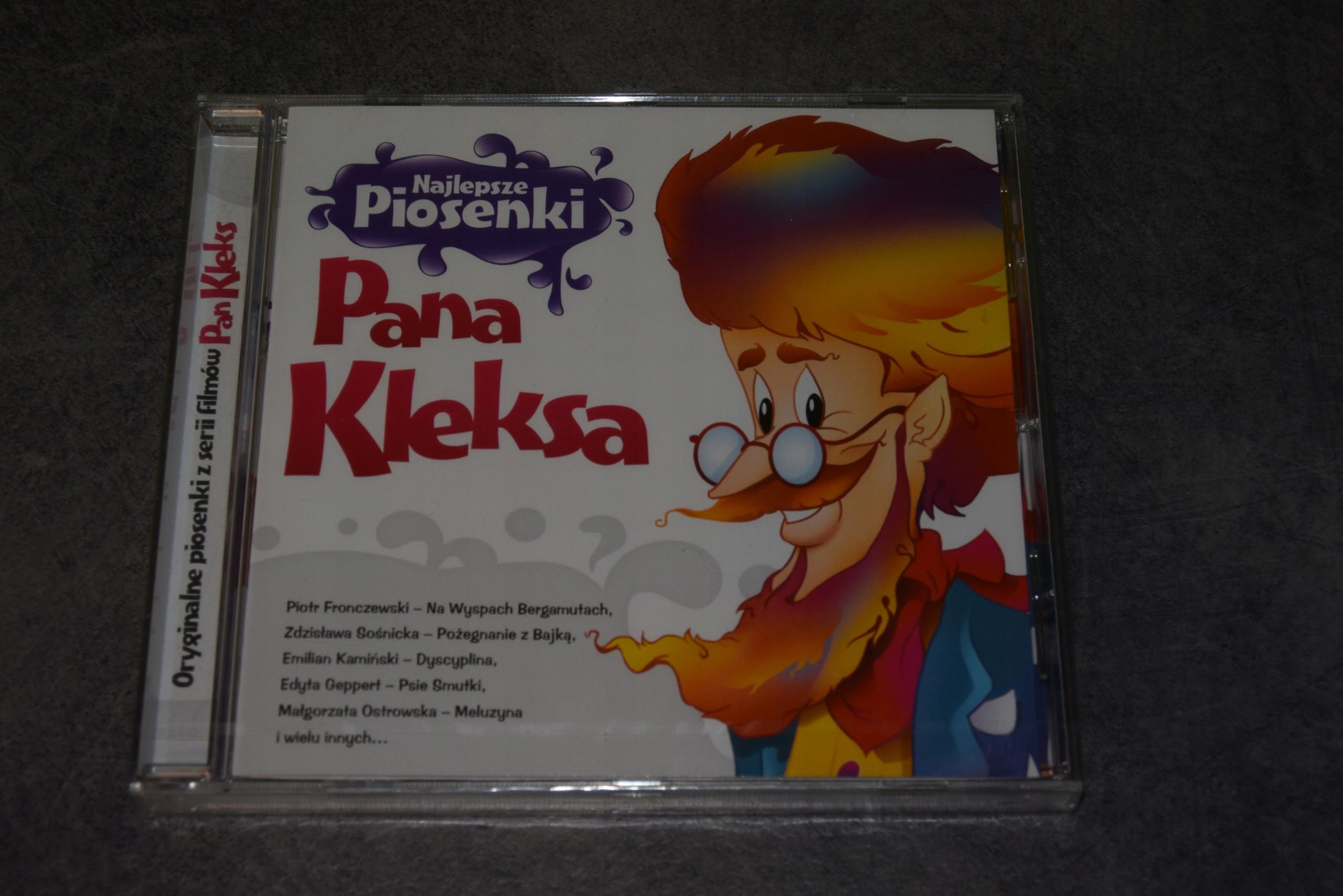 NOWA CD - Najlepsze Piosenki PANA KLEKSA AKADEMIA