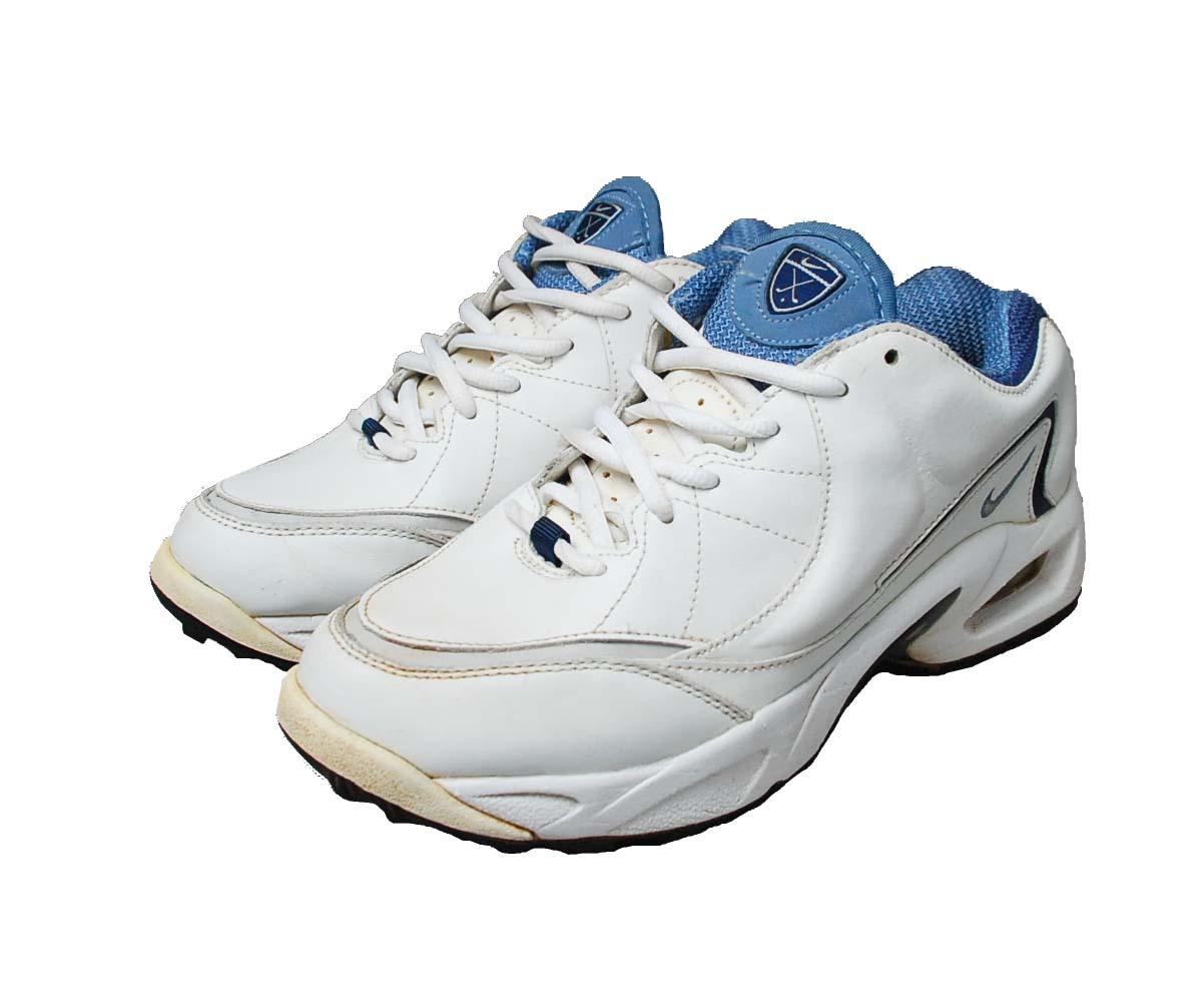NIKE AIR MAX GOLF oryginalne buty golf SKÓRA  37,5