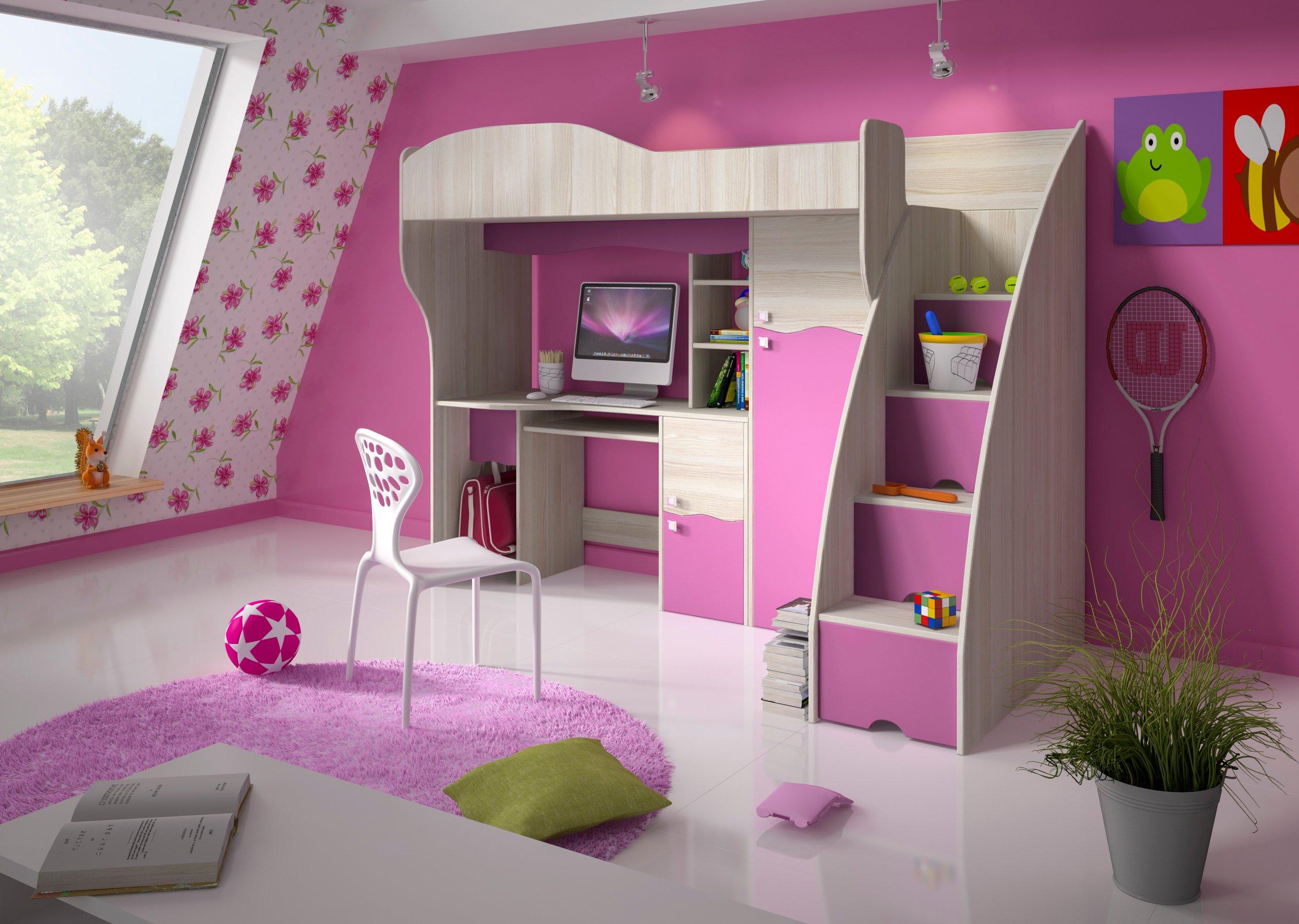 Producent łóżko Piętrowe Dla Dzieci Rino 80x190cm 6763089863
