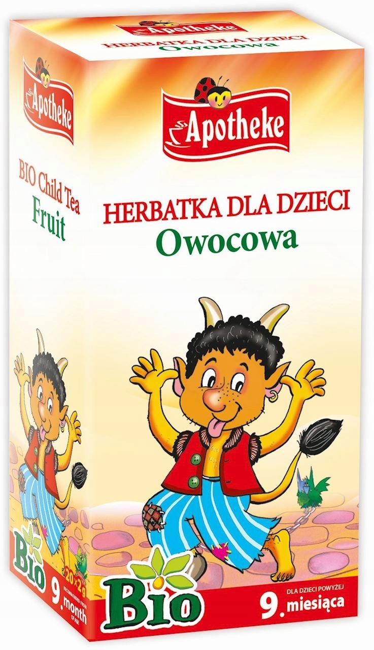 Apotheke Herbatka Dla Dzieci Owocowa Bio 20 x 15g