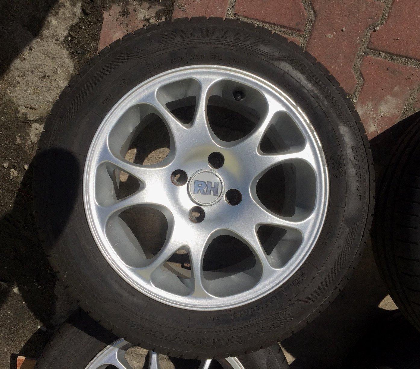 Felgi Aluminiowe Rh Opony 15 Honda Civic Vii 7286247213