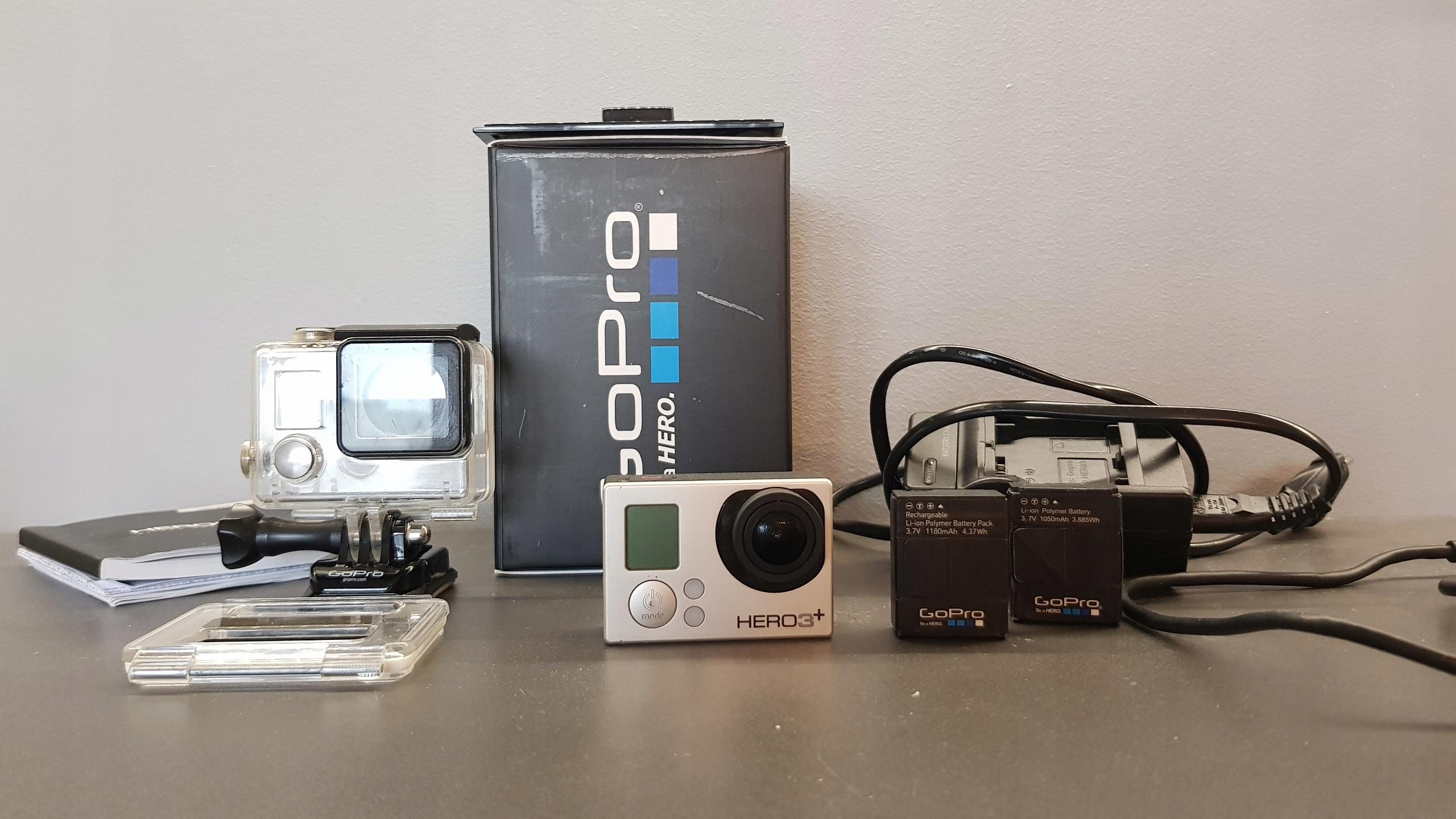 Kamera GoPro Hero 3+ Silver