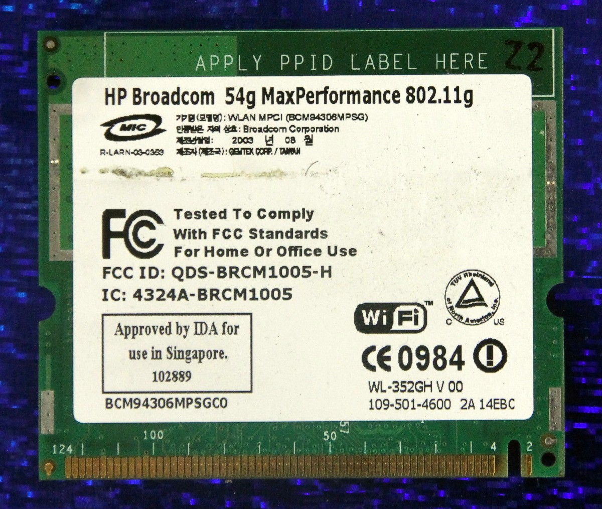 BROADCOM 54G DRIVER FOR PC