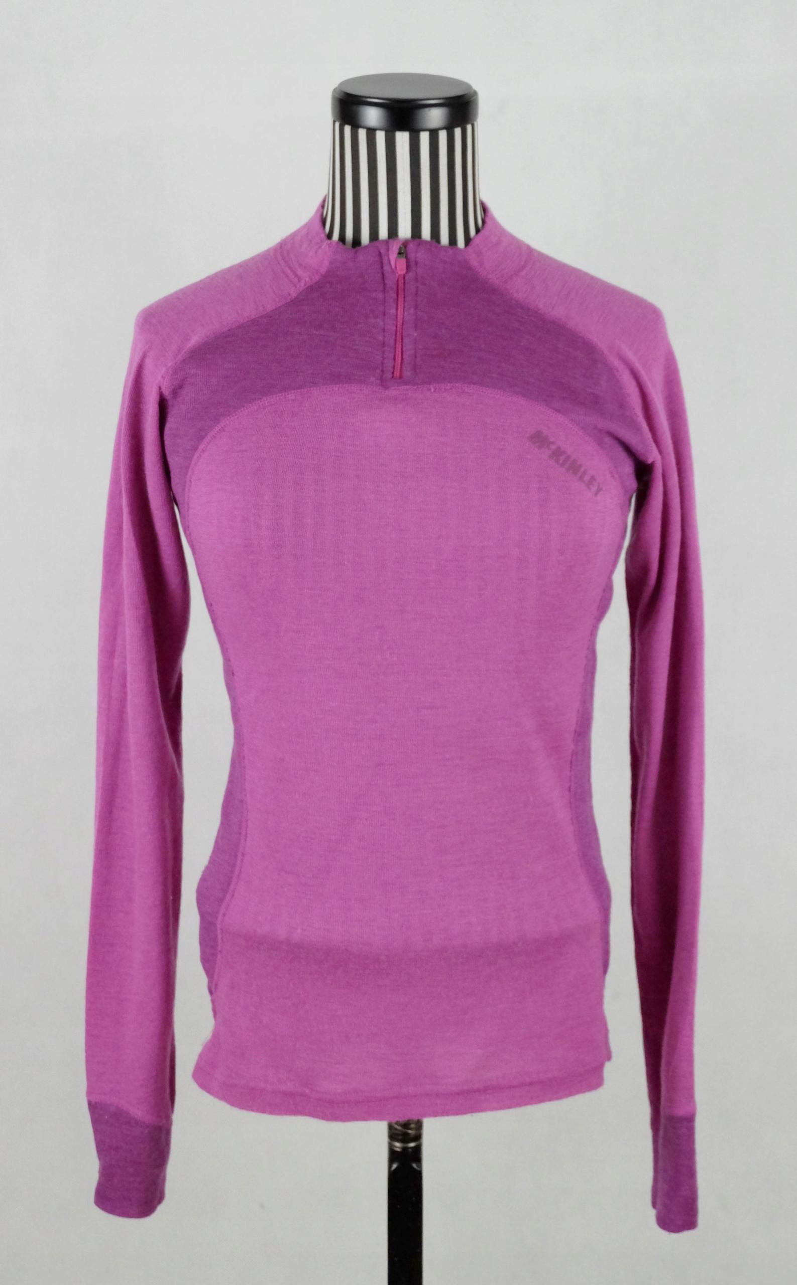 MC KINLEY WOMAN bluzka 100% merino wool S