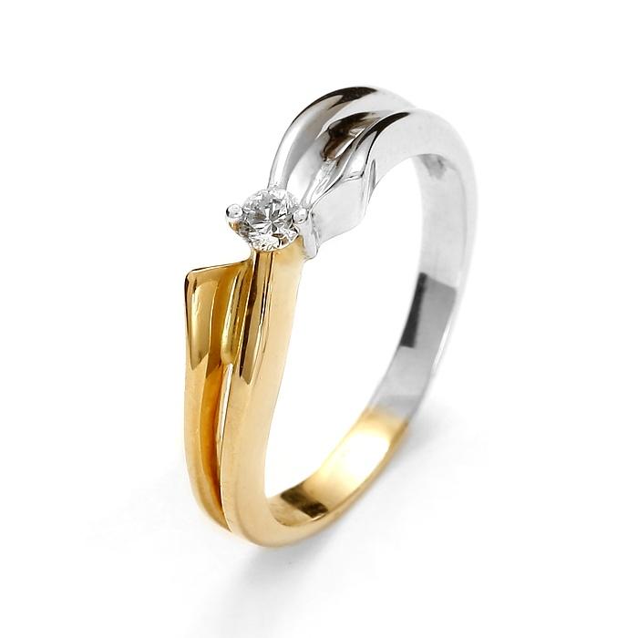 Pierścionek Zaręczynowy Diamor 1805 011ct Hsi 7289766689