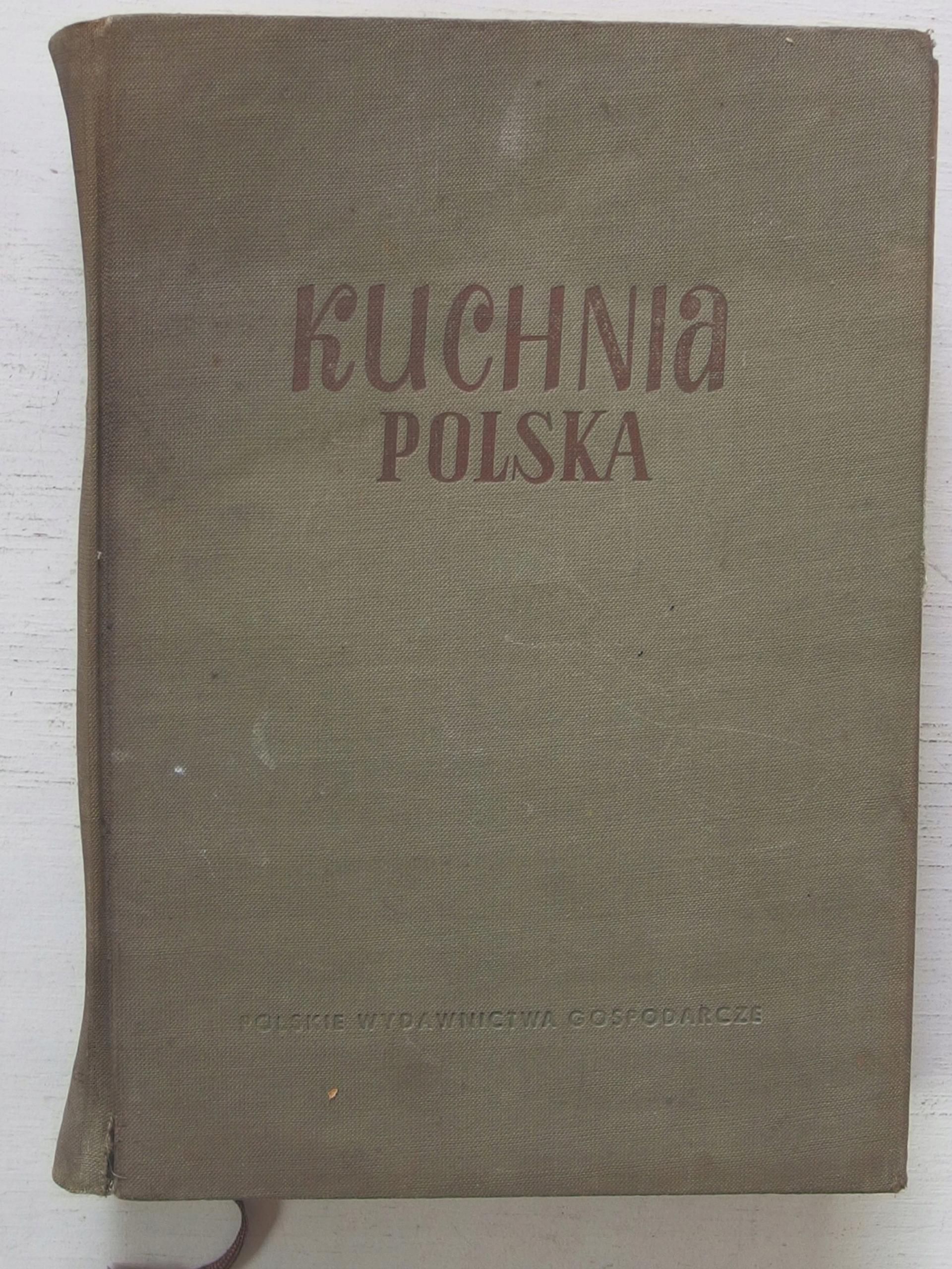Kuchnia Polska 1956 Ii Wydanie 7539327701 Oficjalne