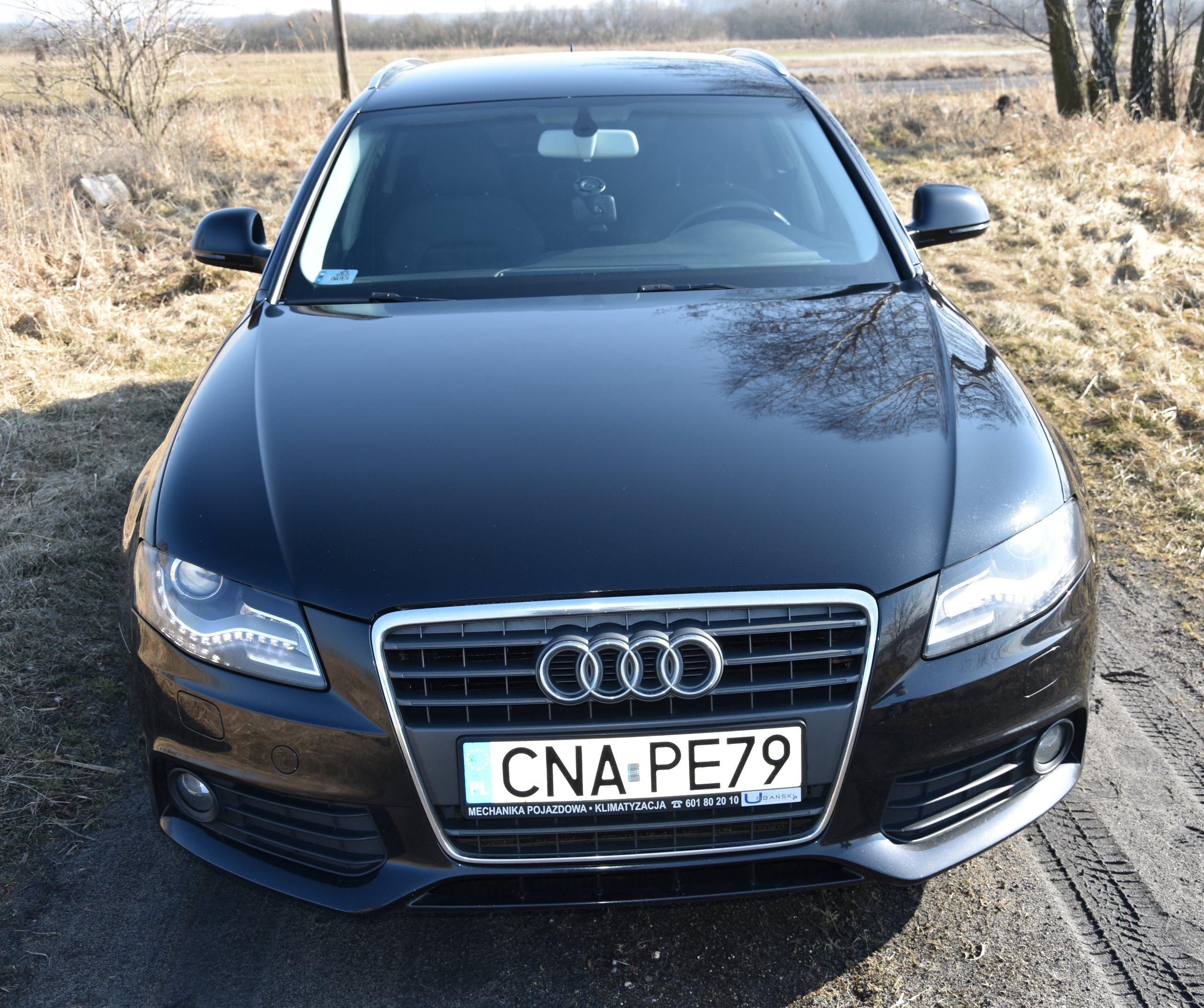 Audi A4 B8 Kombi 20 Tdi 2008r Nawigacja Zamiana 7230140719