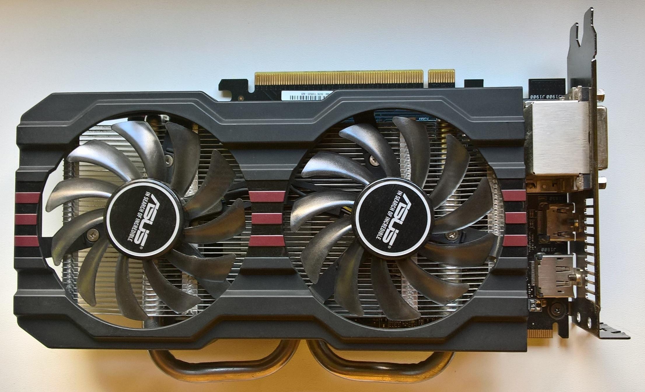 ASUS Radeon R7 260X 2GB GDDR5 - 7088324060 - oficjalne
