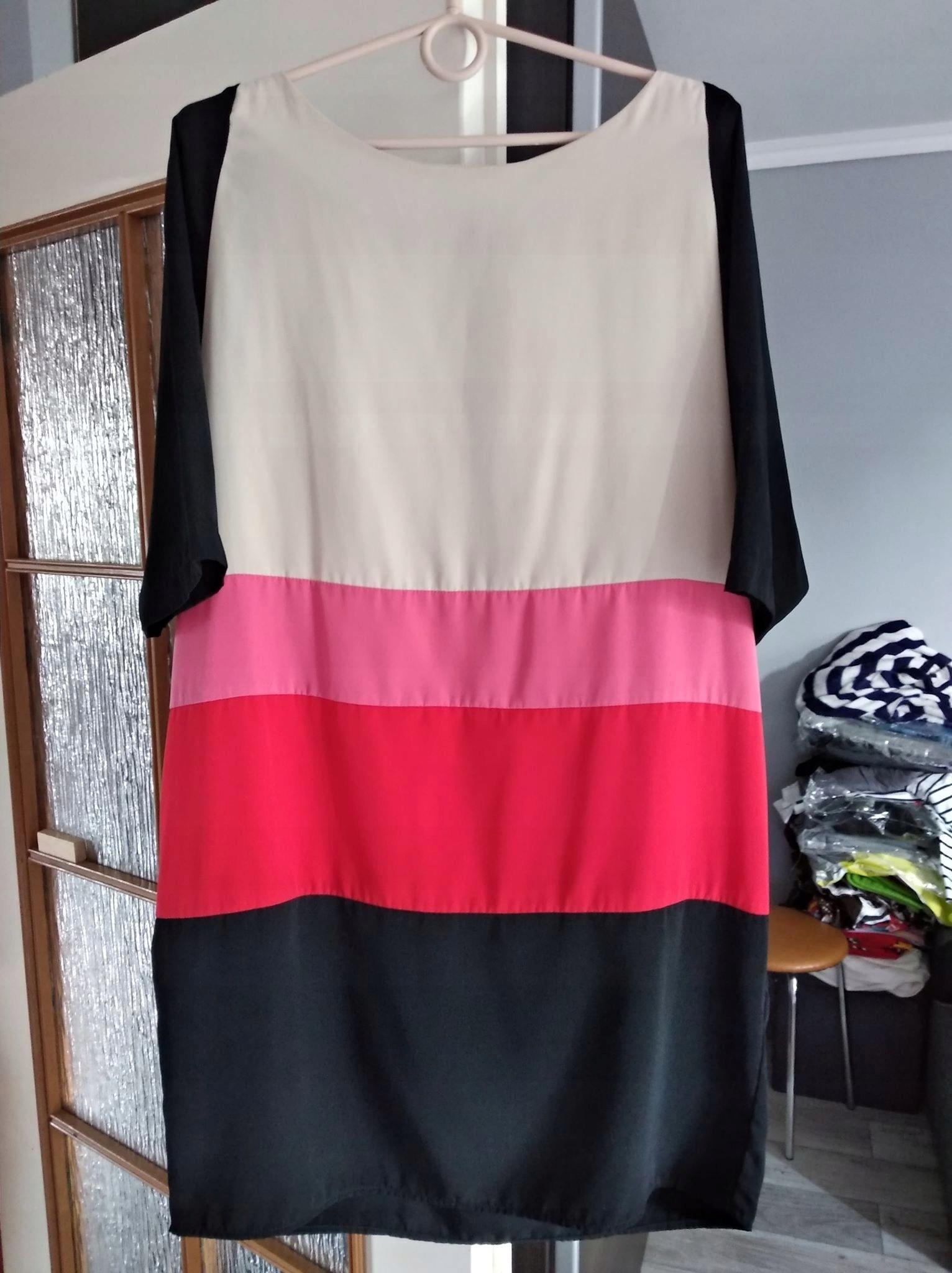 aec88ad500 Kolorowa sukienka KappAhl roz 44 - 7546926599 - oficjalne archiwum ...