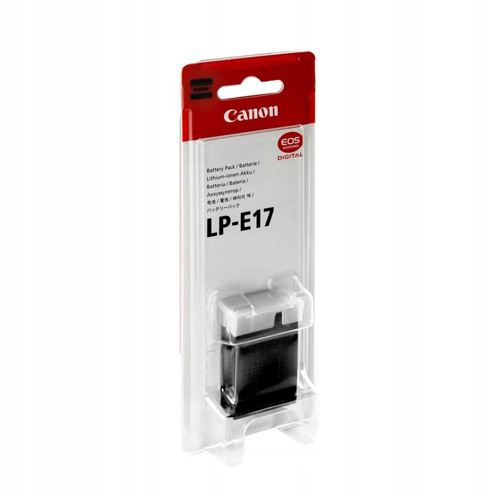 CANON LP-E17 ORYGINAL NOWY