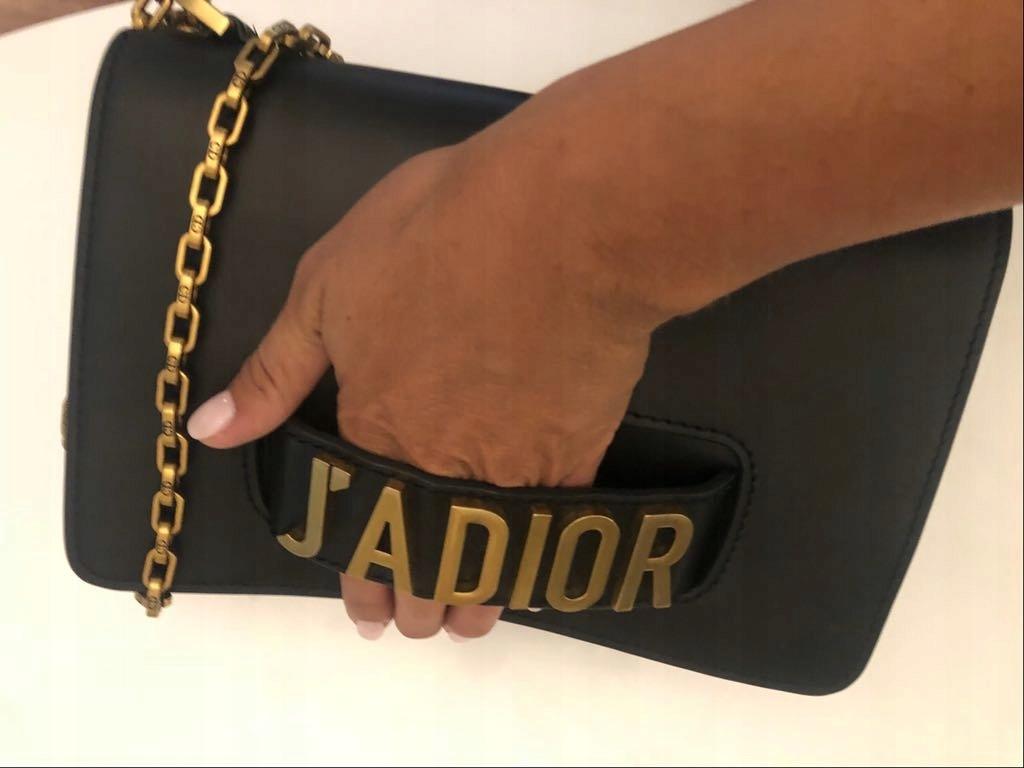 bd57b7ab486c3 Torebka Christian Dior czarna - 7511531368 - oficjalne archiwum allegro