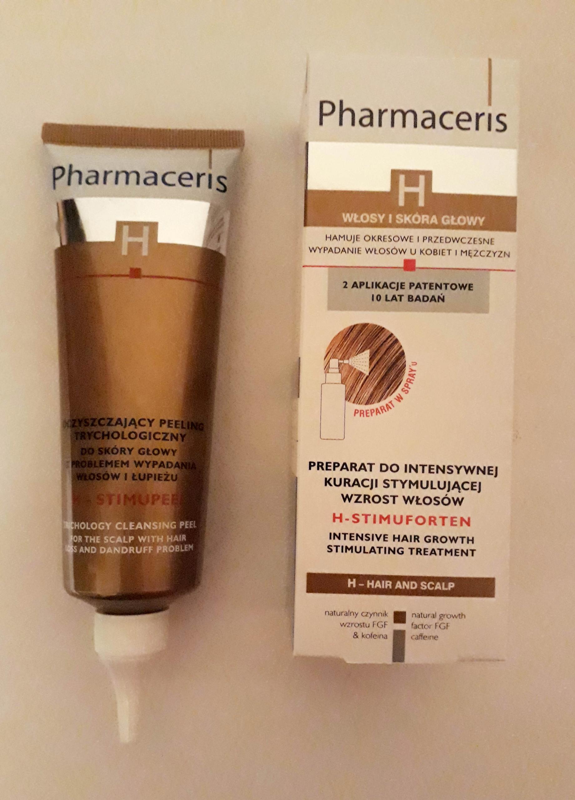 Pharmaceris H-STIMUFORTEN przeciw wypadaniu włosów