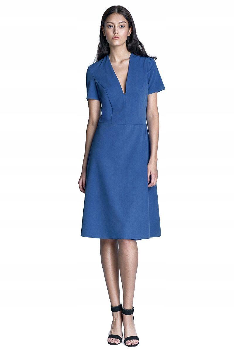 f62559a4b6 Nife Sukienka Ginny niebieski - S71 XL (42) - 7383867957 - oficjalne ...