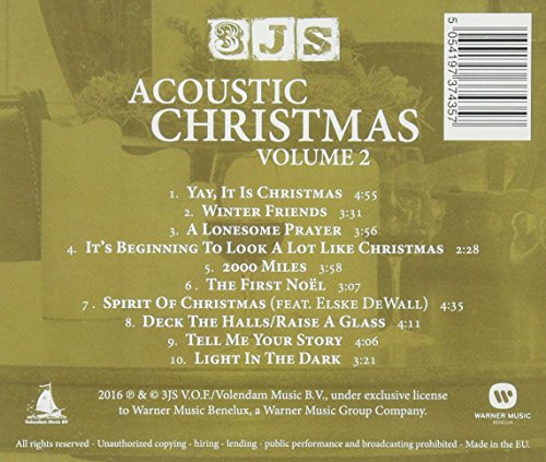 CD Drie Js - Acoustic Christmas Vol.2
