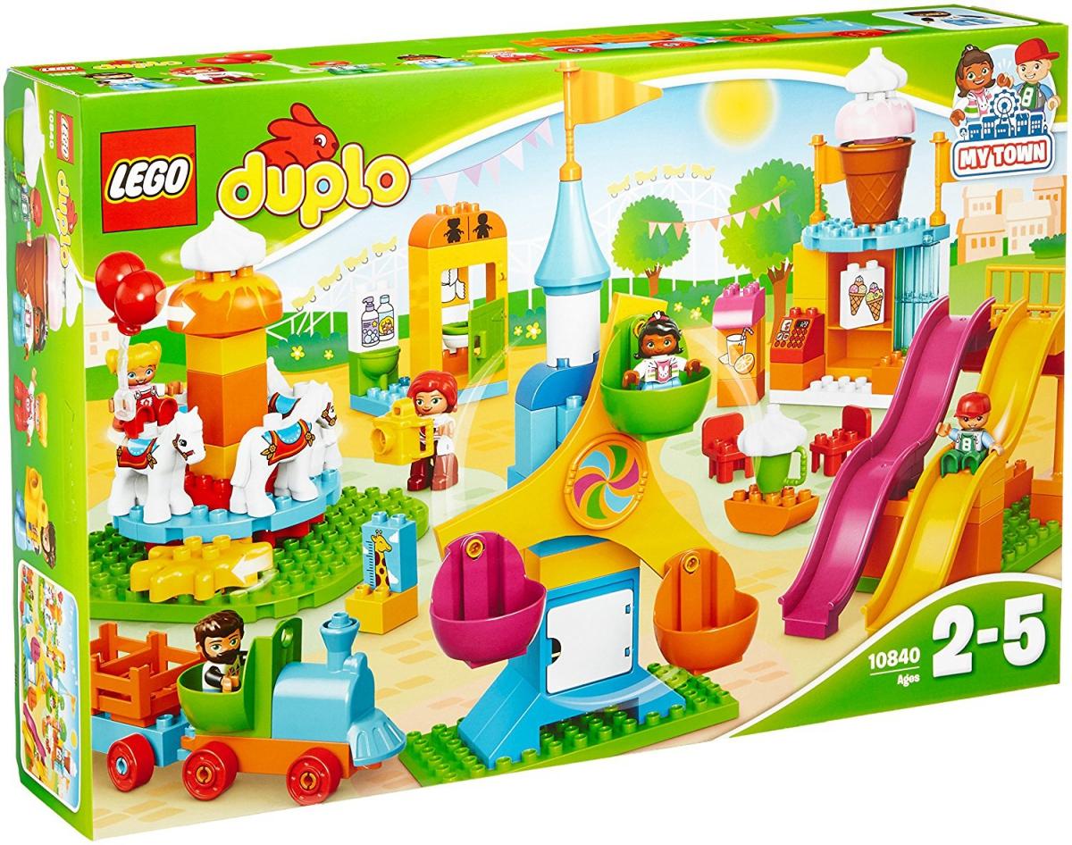 Lego Duplo 10840 Klocki Duże Wesołe Miasteczko 24h 7168289404