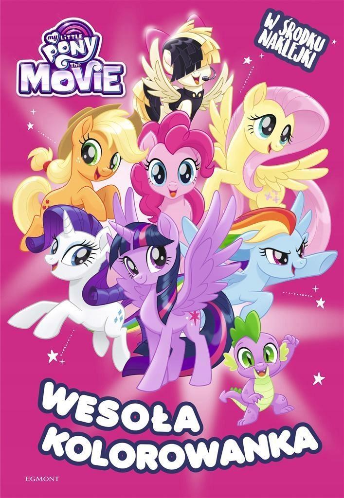 My Little Pony The Movie Wesoła Kolorowanka 7699266288