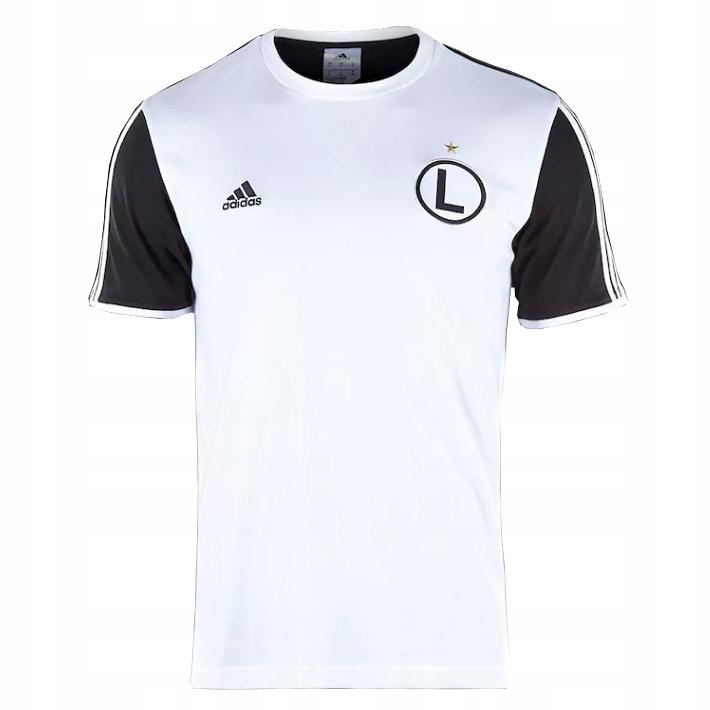 Koszulka T shirt ADIDAS LEGIA WARSZAWA S-XL tu M