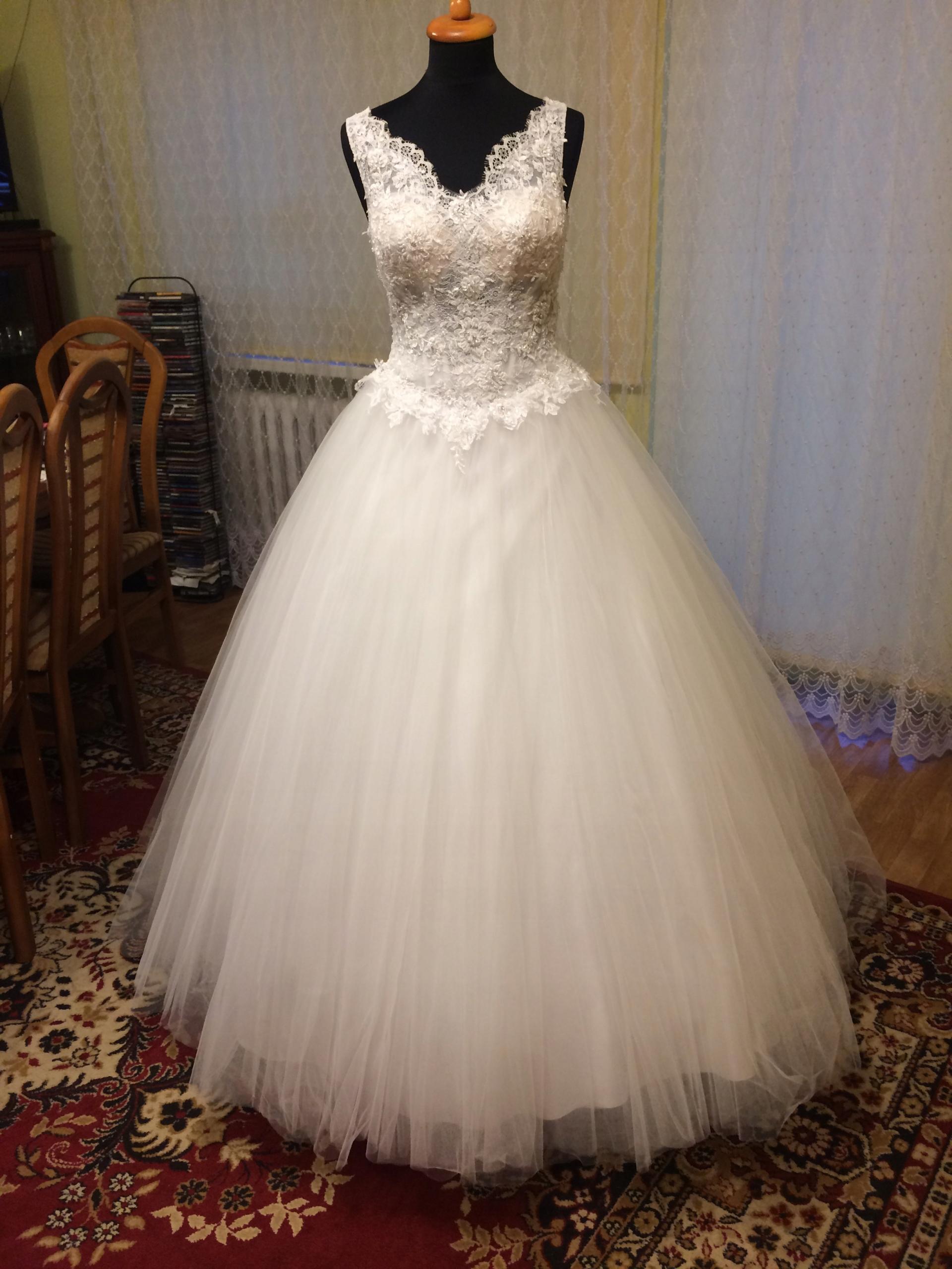 Suknia ślubna Ms Moda Queen 7604654690 Oficjalne Archiwum Allegro