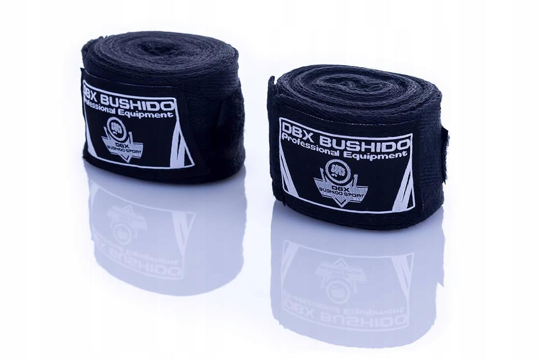 owijki DBX Bushido bandaże 4m czarne