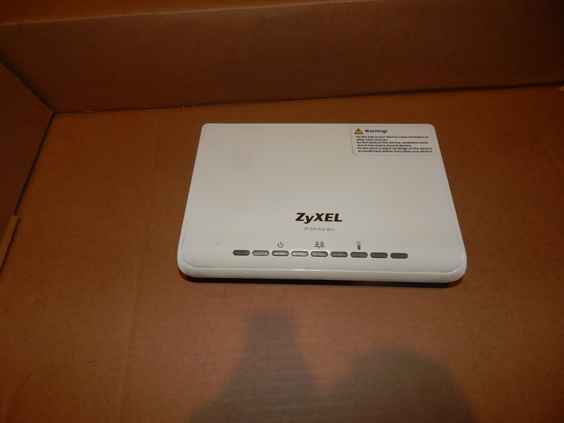 Dekoder STB Set To Box Zyxel STB-1001H IPTV