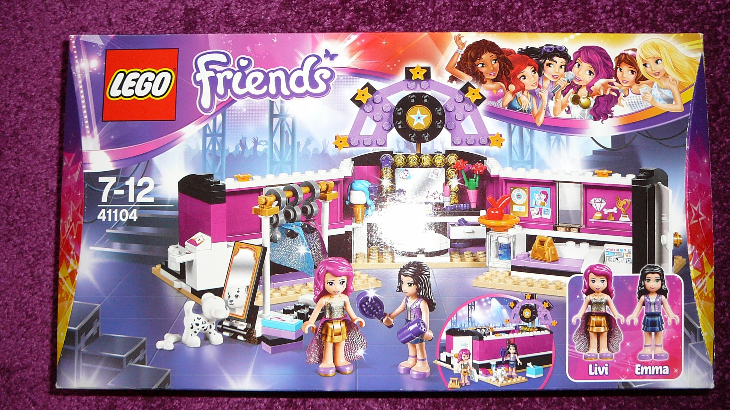 Klocki Lego Friends Scena Gwiazdy Pop 100 7625419626 Oficjalne