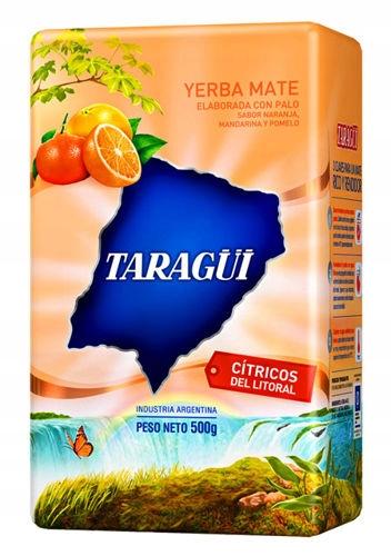 Yerba Mate TARAGUI CITRICOS 500g owocowa