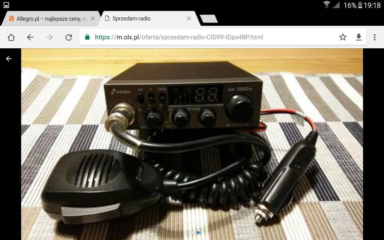 CB radio stabo
