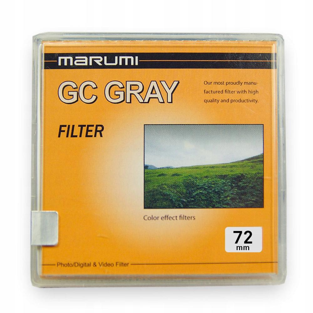 Filtr Połówkowy Marumi Standard GC GRAY 72 mm