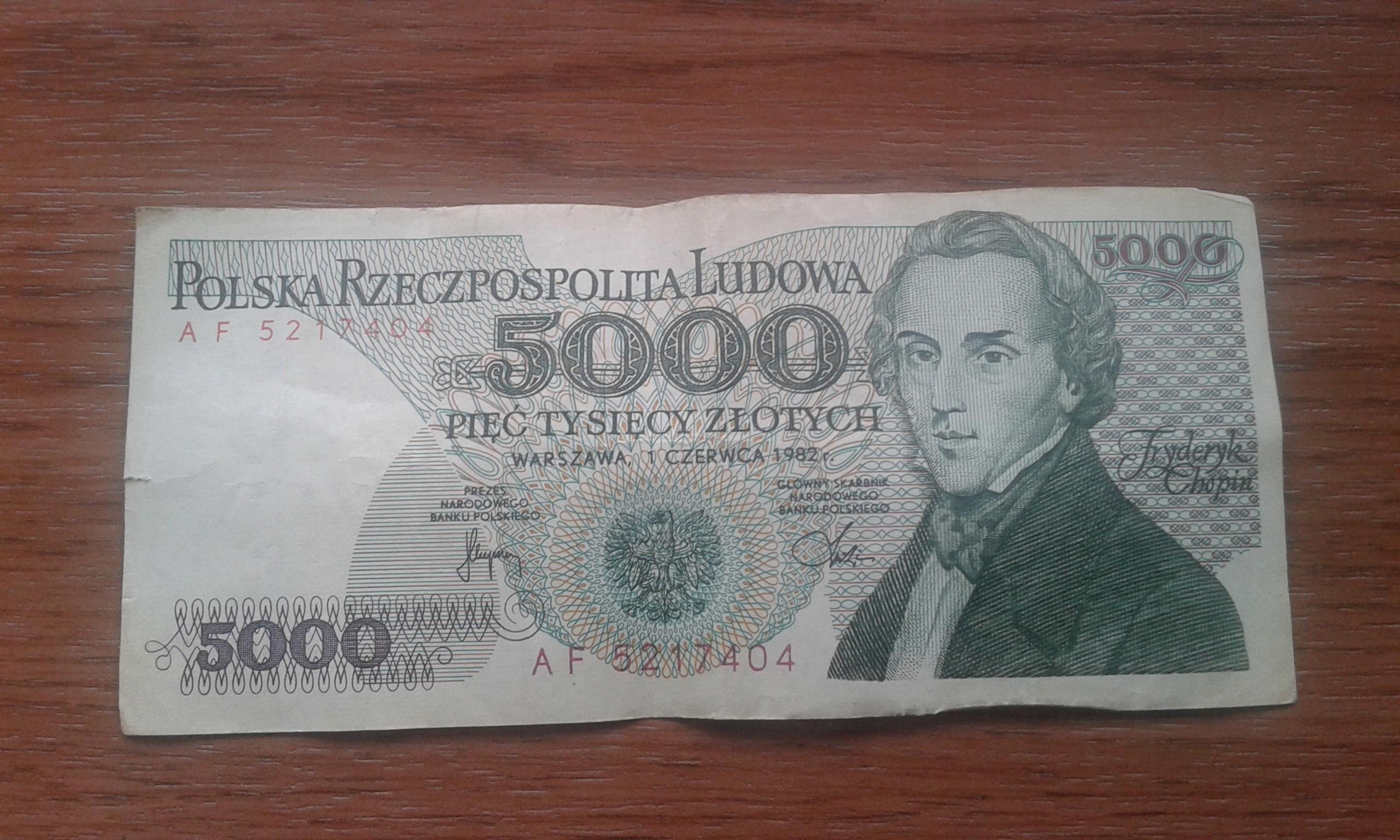 stare banknoty starocie stare pieniądze banknoty
