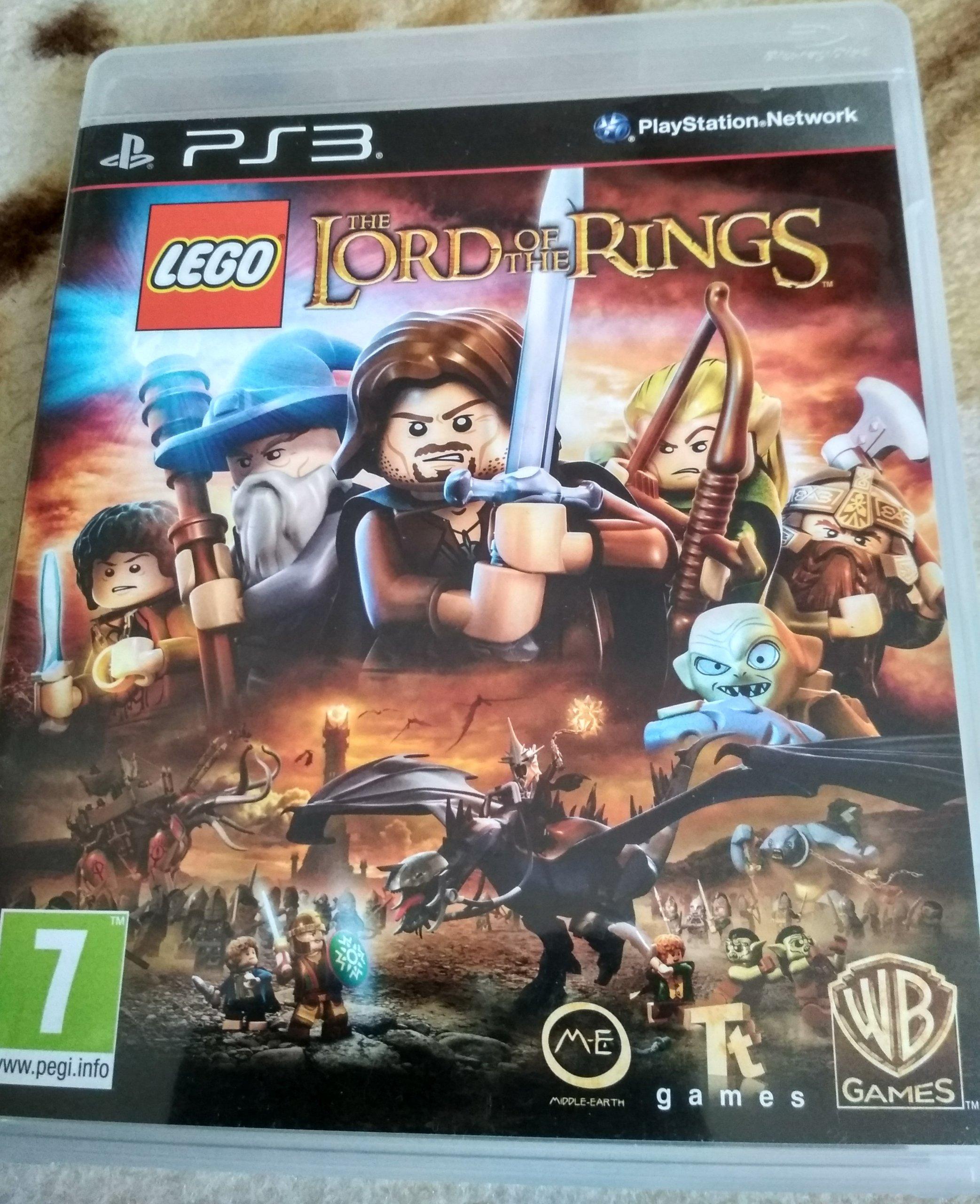 Lego Władca Pierścieni Gra Na Ps3lord Of The Ring 7288754556