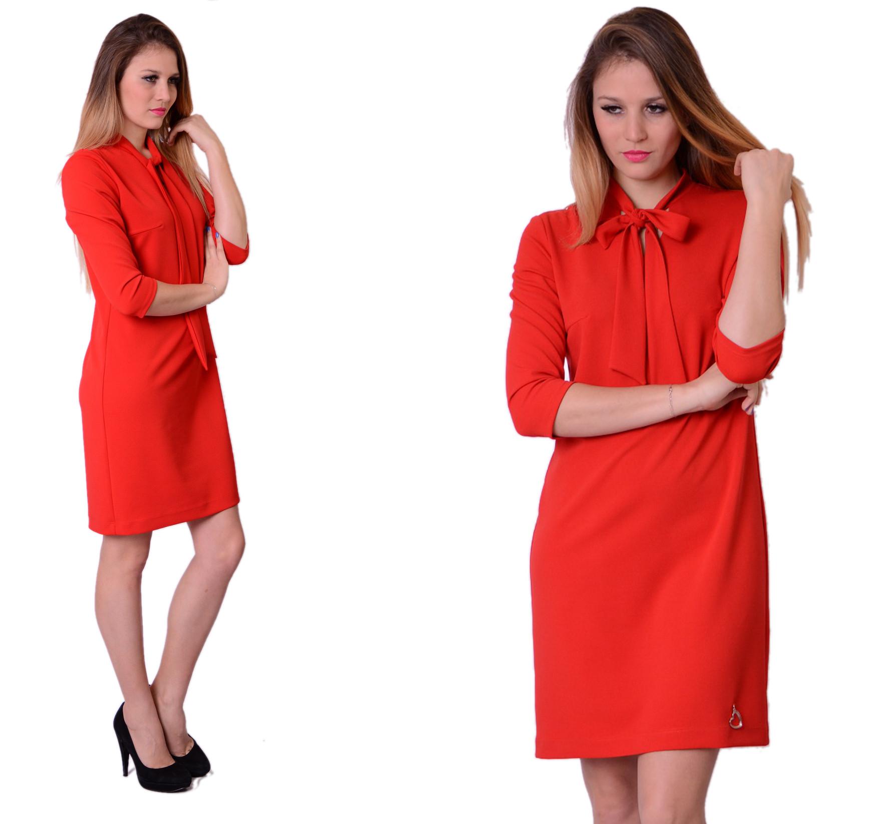 b1b8e7511e Sukienka Trapez Krawat Kolory Producent rozm.44 - 7132142773 ...