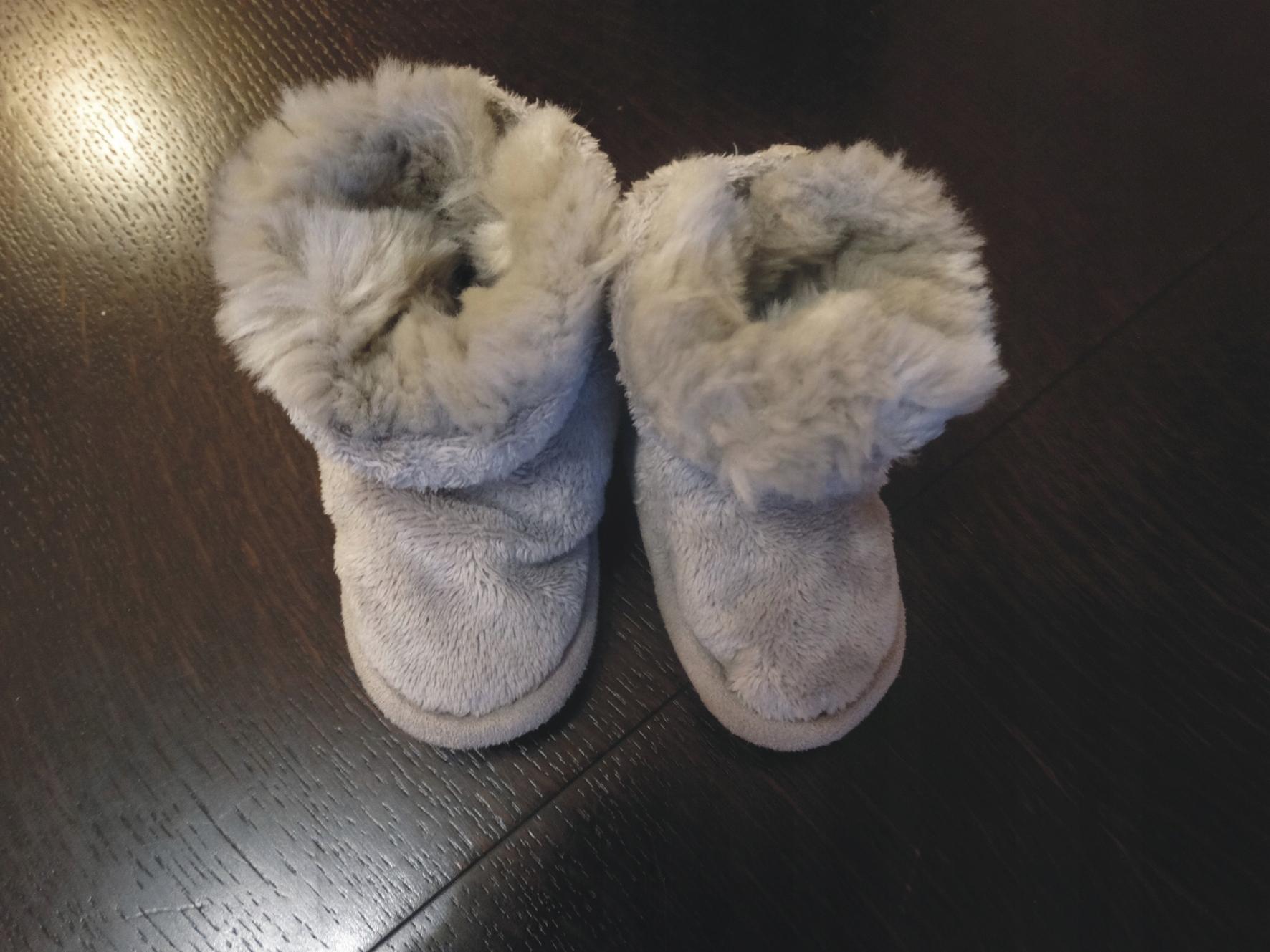 219d08ea Buciki buty butki niechodki zimowe futro - 7687578987 - oficjalne ...