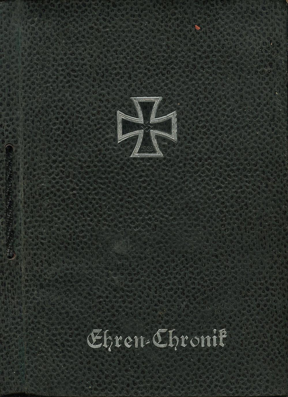 EHREN CHRONIK 1940 Kronika Krzyż Żelazny Wehrmacht
