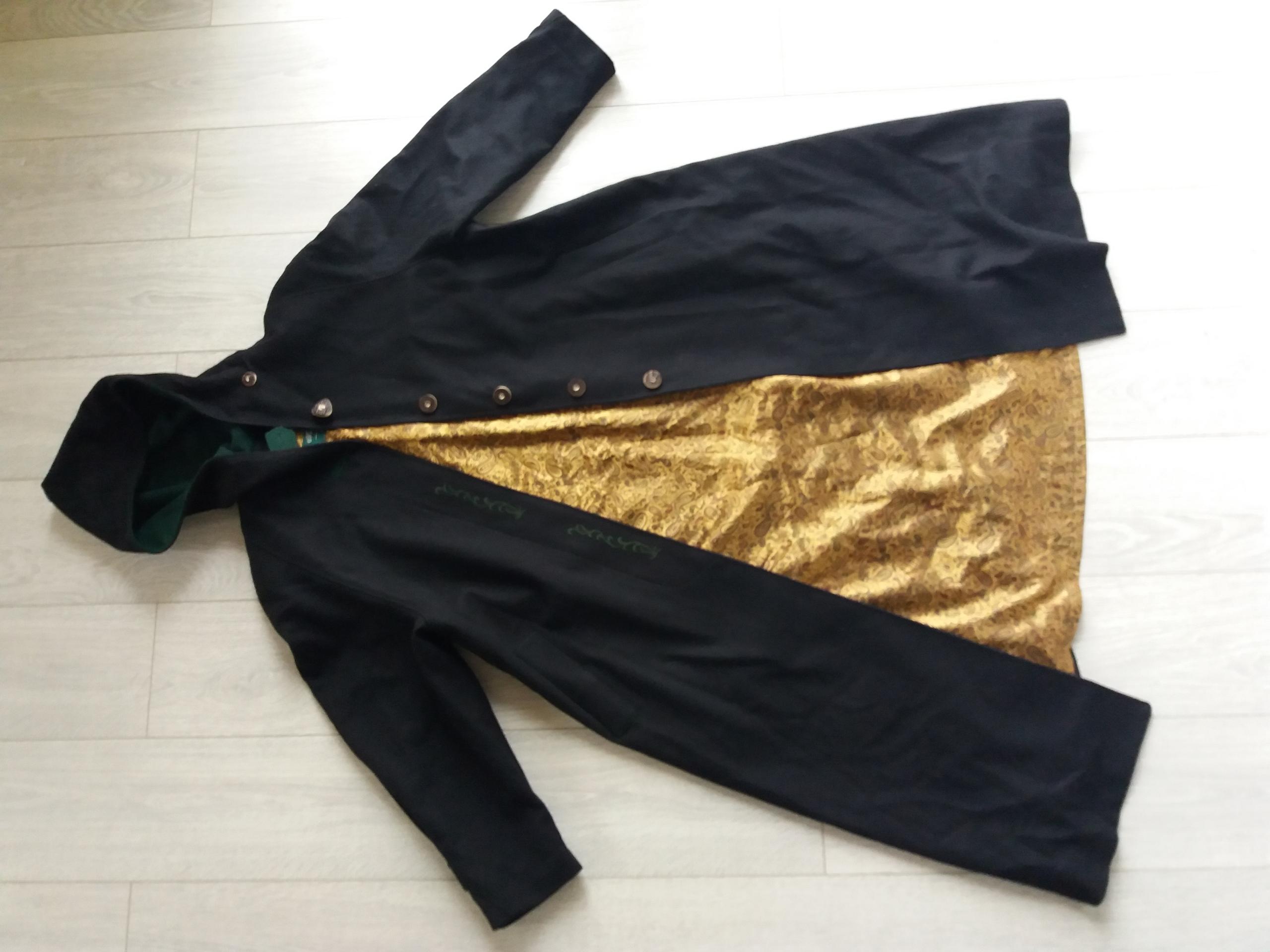 4b53fceea1f9f płaszcz peleryna kaptur 100% wełny Salzburg vinted - 7684043334 ...