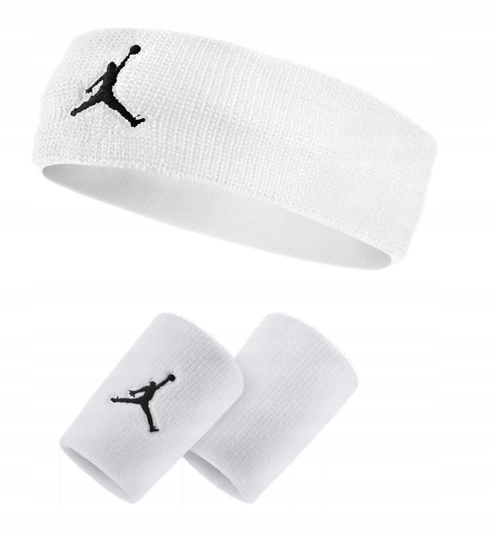 Zestaw Air Jordan frotki opaski na rękę i głowę