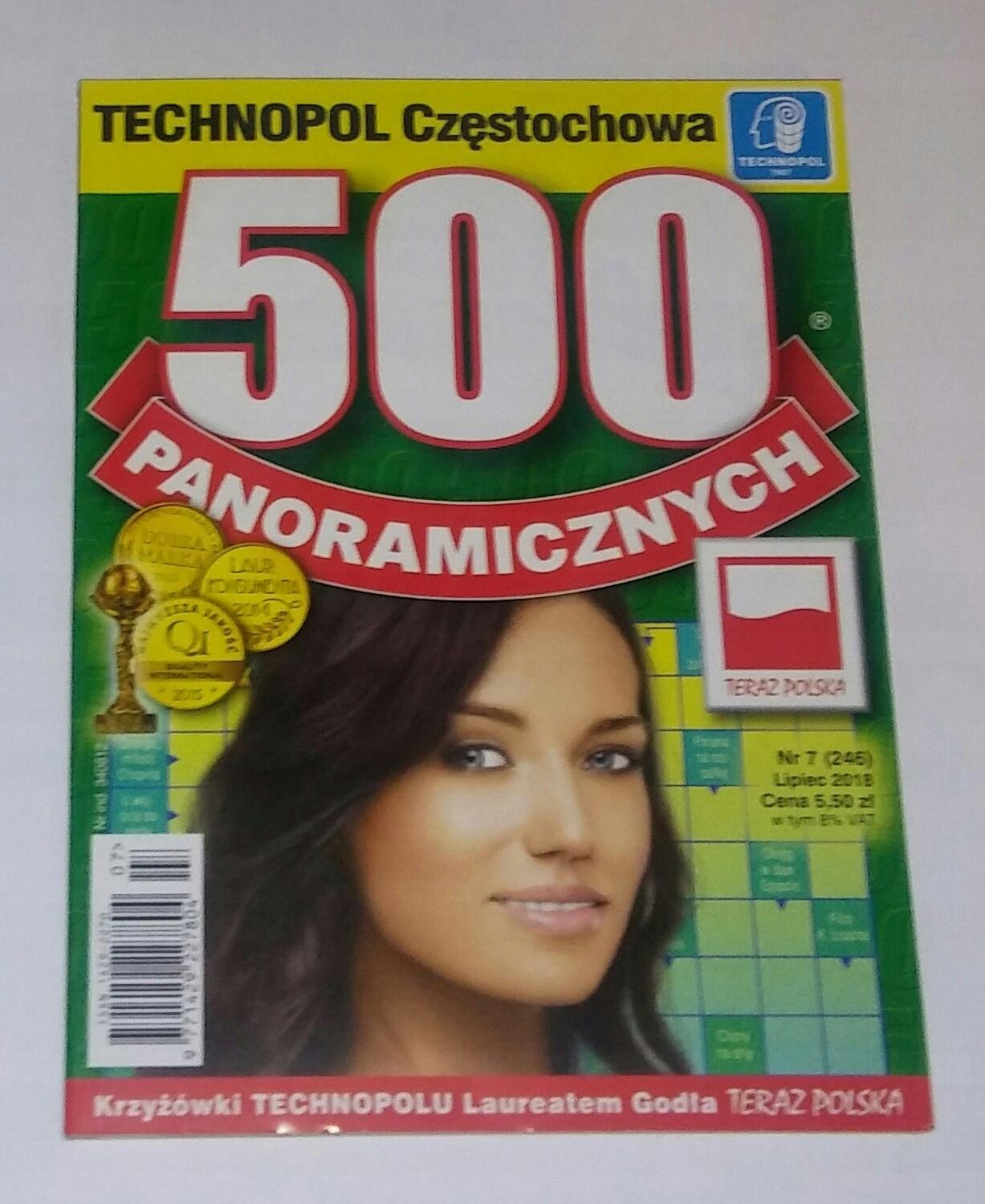 500 Krzyżówek Panoramicznych Technopol 72018 7589093074