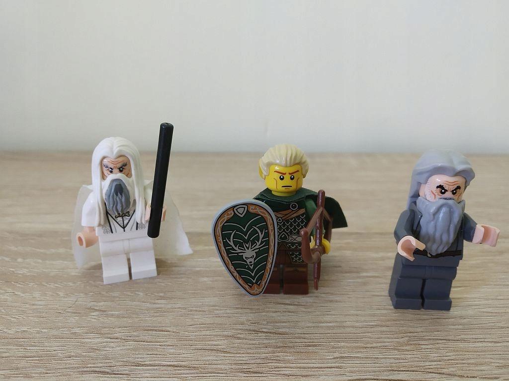 Lego Władca Pierścieni Figurki Gandalf X 2 Legolas 7721434723