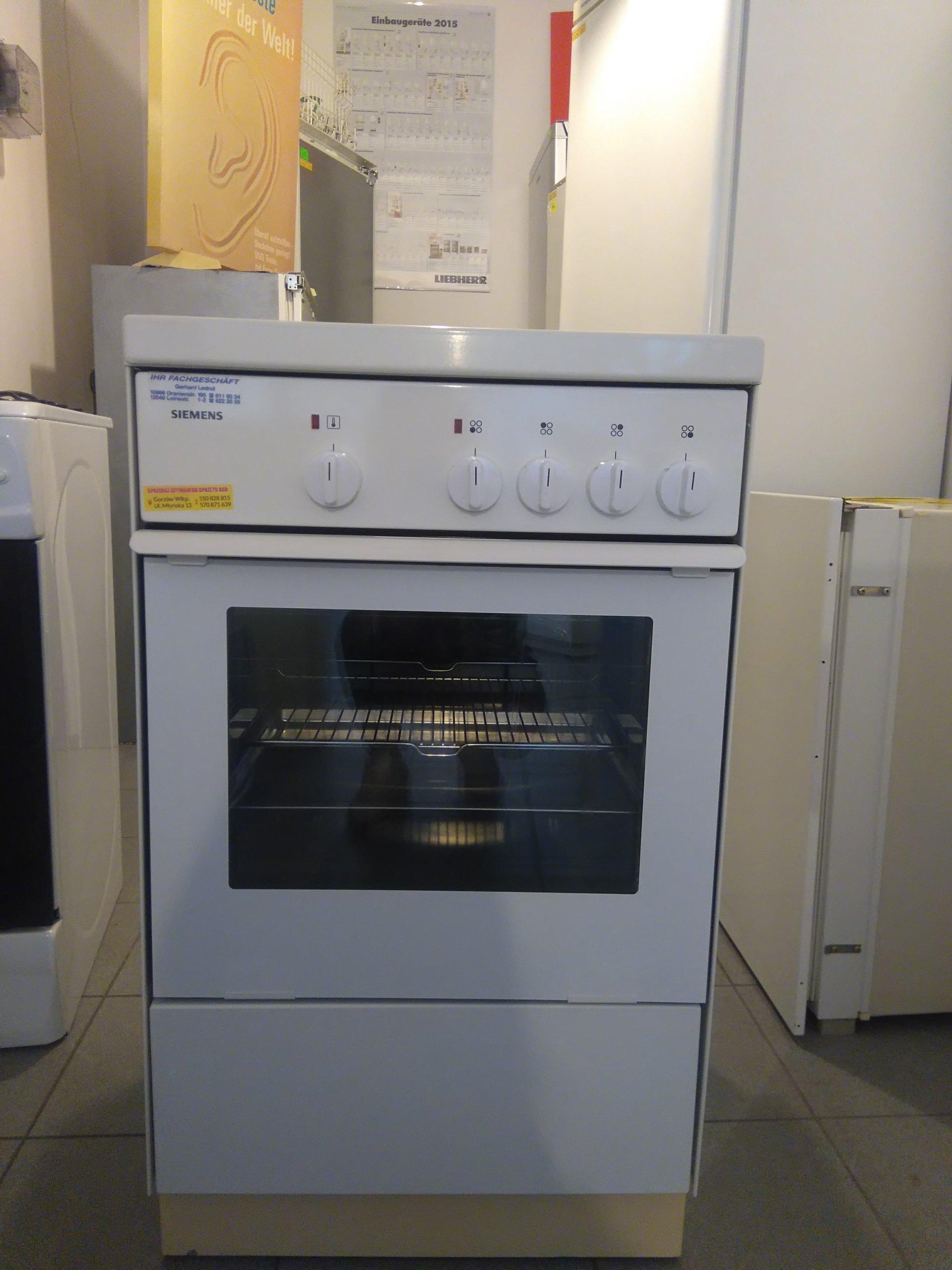 Kuchnia Elektryczna Siemens 7297108475 Oficjalne