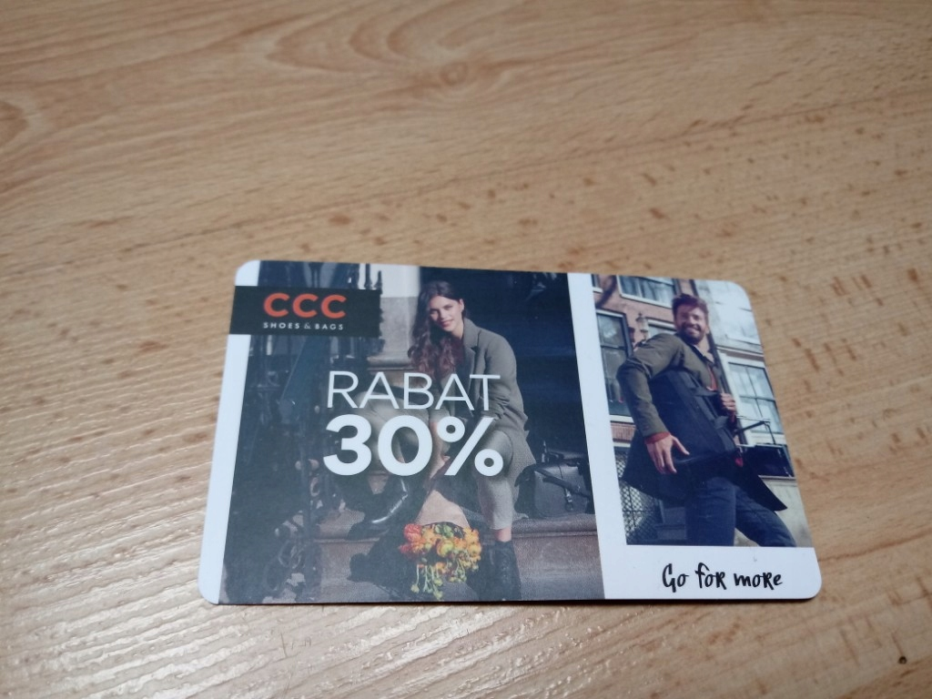 Karta Rabatowa 30 Ccc 7459860129 Oficjalne Archiwum Allegro