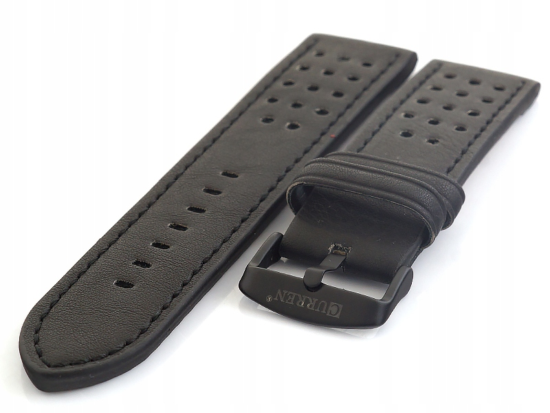 Skórzany pasek do zegarka Curren C-046.01 22 mm