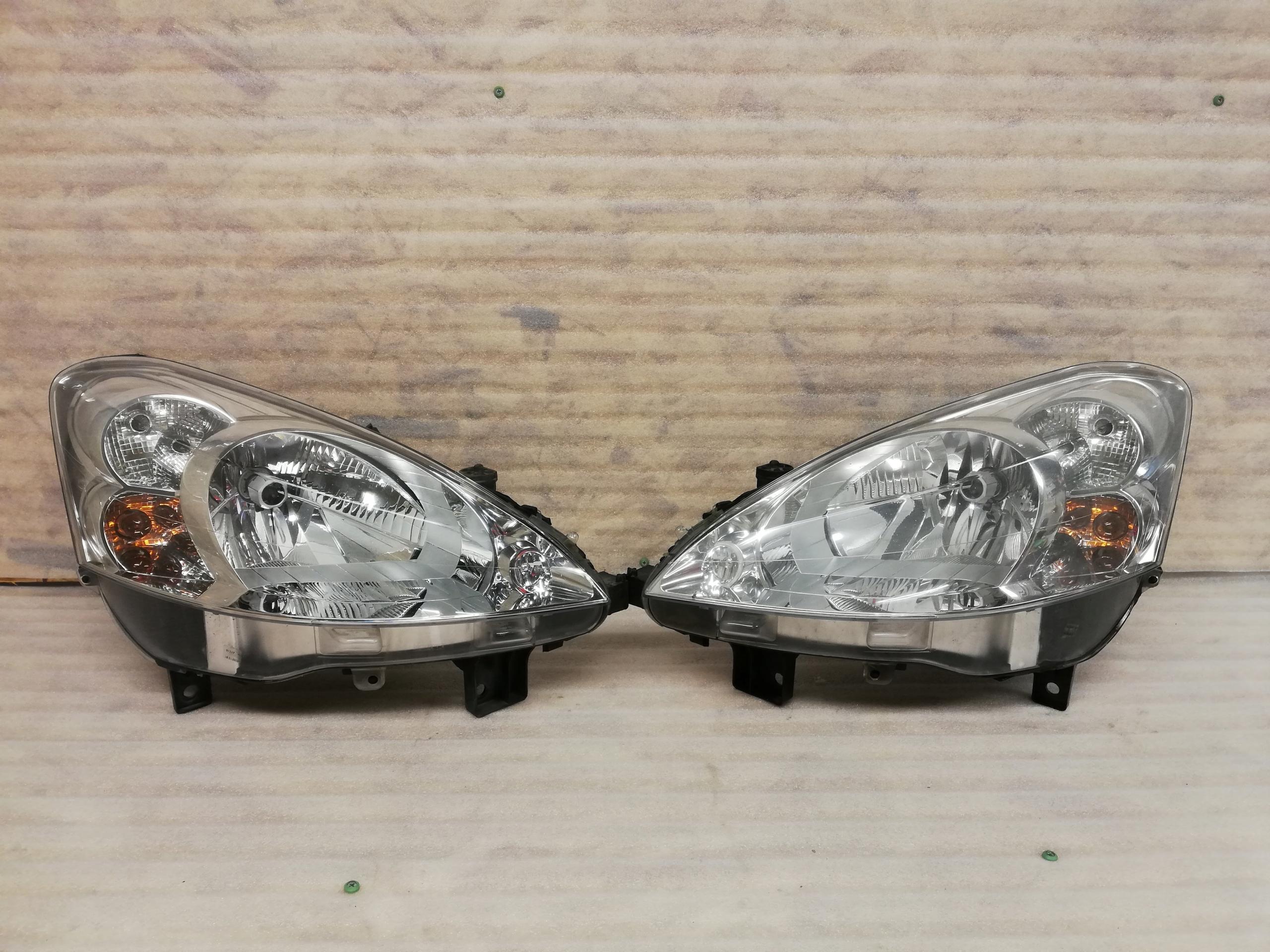 Komplet Lamp Peugeot Partner Iii Demontaż 7764397615