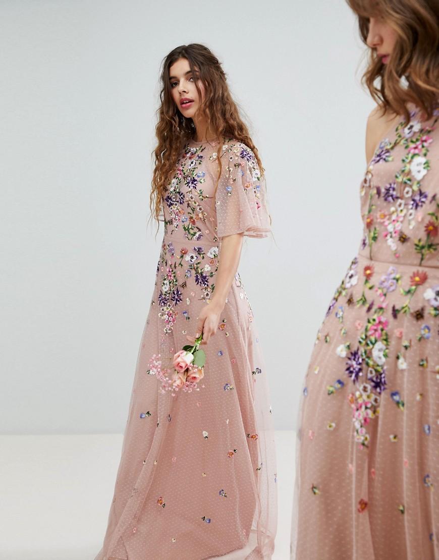 Sukienka Maxi Haft Wesele Xl 42 7144208120 Oficjalne Archiwum