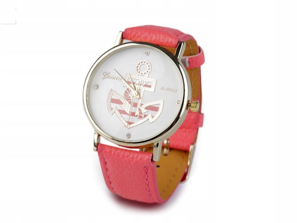 Zegarek damski 3,8x24 cm z kotwicą